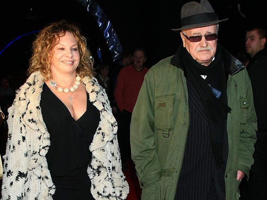 Małgorzata Potocka i Jan Nowicki /Stach Leszczyński /PAP