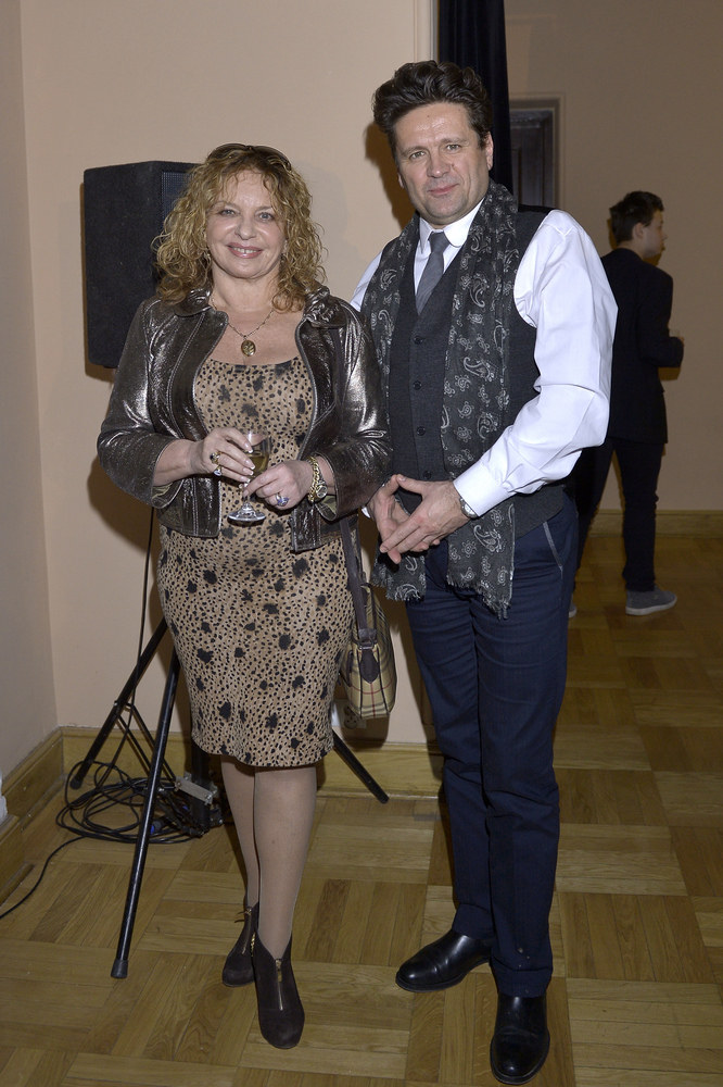 Małgorzata Potocka, Iwo Orłowski /Gałązka /AKPA