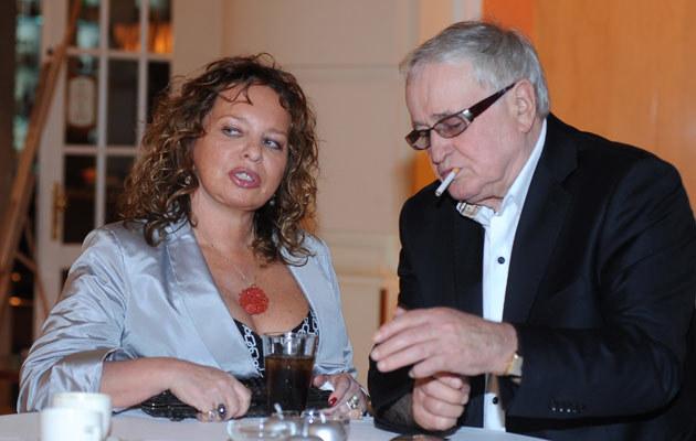 Małgorzata Potocka, Jan Nowicki /fot.Andzrej Szilagyi  /MWMedia