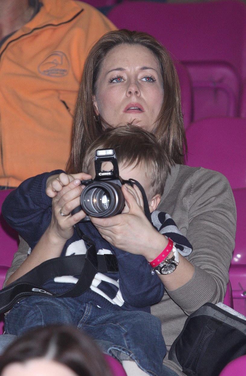 Małgorzata Rozenek, 2009 r. /Paweł Kibitlewski /ONS