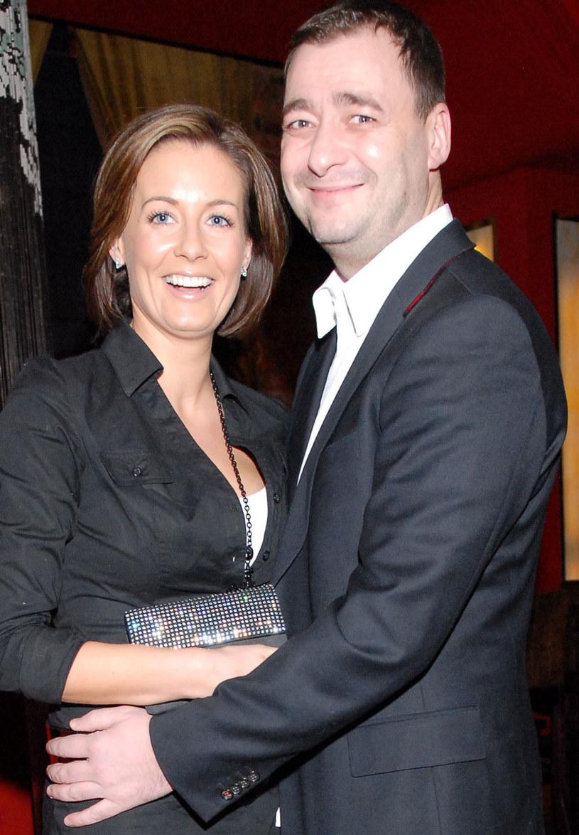Małgorzata Rozenek i Jacek Rozenek przed laty /MWMedia