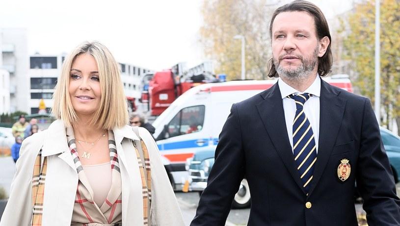 Małgorzata Rozenek-Majdan i Radosław Majdan niedawno zostali rodzicami. Opieka nad synem przewartościowała życie małżeństwa /Andras Szilagyi /MWMedia