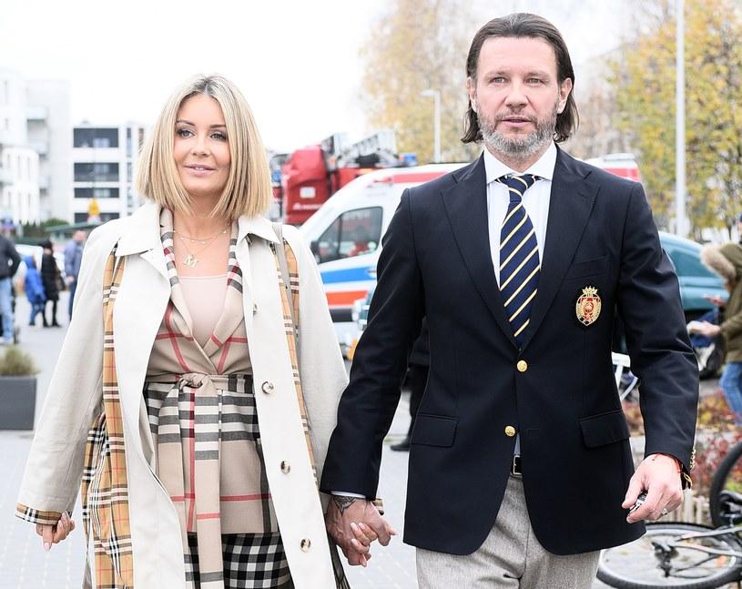 Małgorzata Rozenek Majdan i Radosław Majdan. Para potwierdziła, że spodziewa się dziecka /Andras Szilagyi /MWMedia