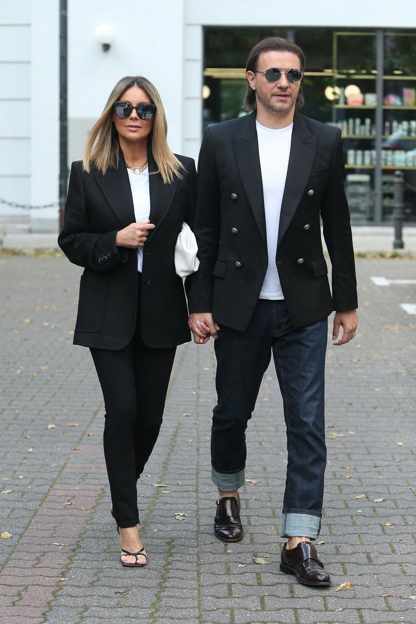 Małgorzata Rozenek - Majdan i Radosław Majdan to jedna z najlepiej ubranych polskich par /VIPHOTO /East News