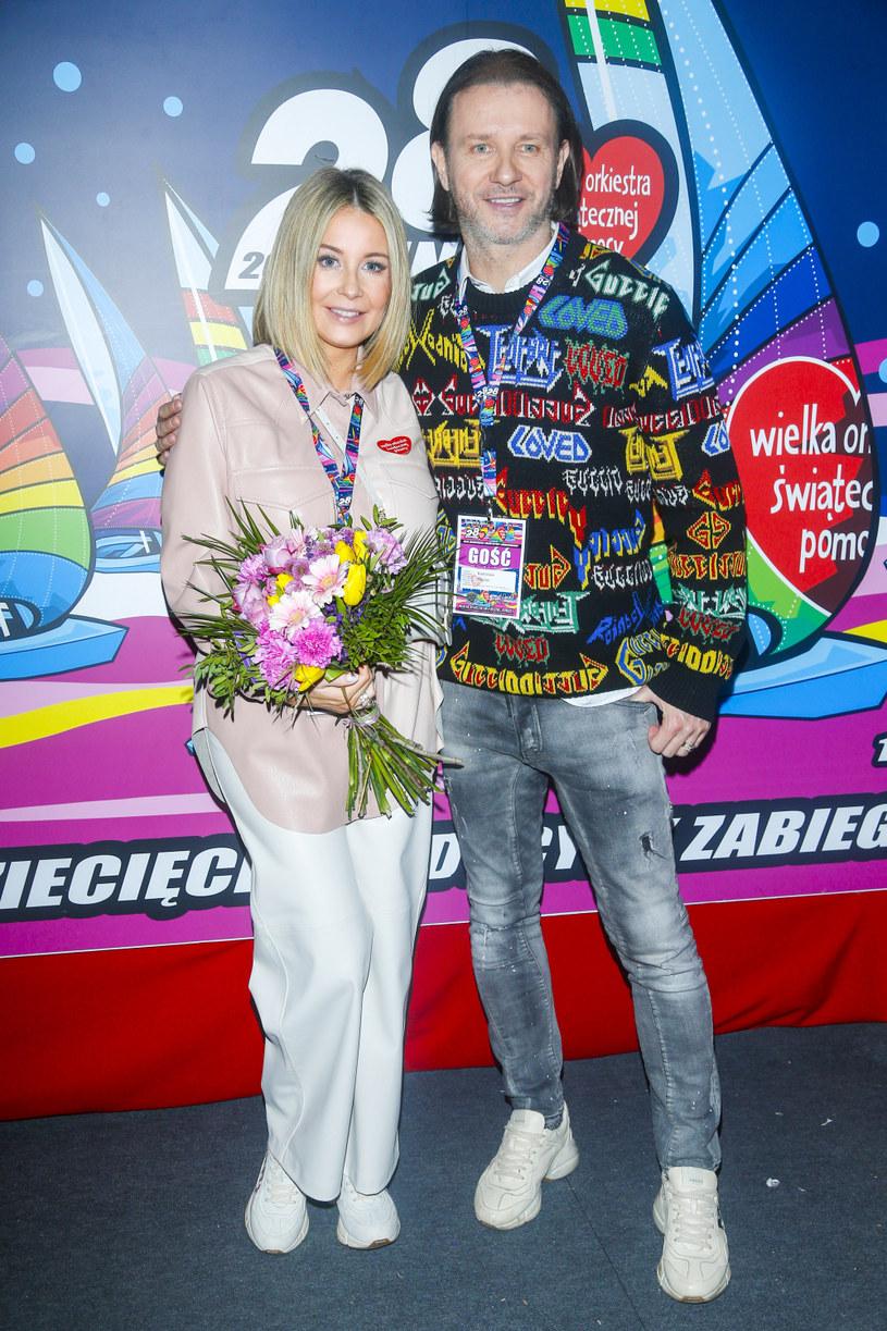Małgorzata Rozenek-Majdan i Radosław Majdan w 2020 roku /Baranowski Michał  /AKPA