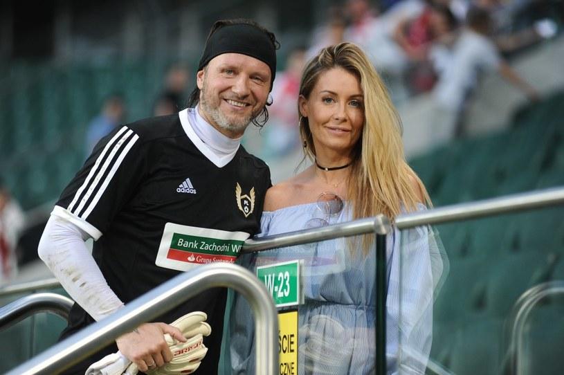 Małgorzata Rozenek-Majdan i Radosław Majdan /Piotr Andrzejczak /MWMedia