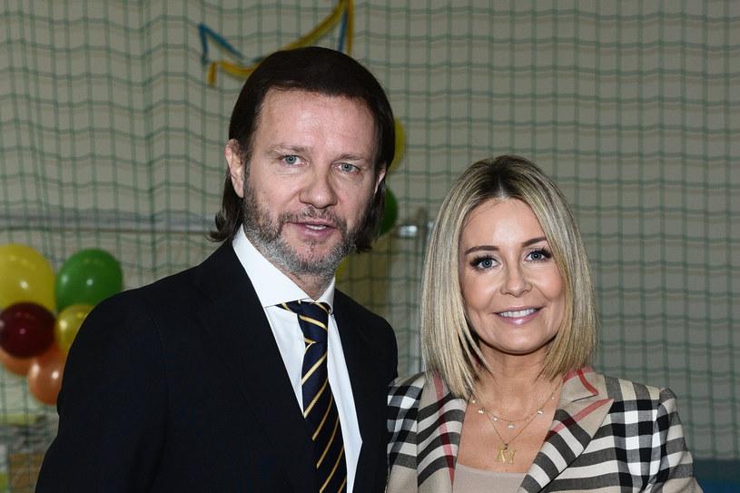 Małgorzata Rozenek-Majdan i Radosław Majdan /VIPHOTO /East News