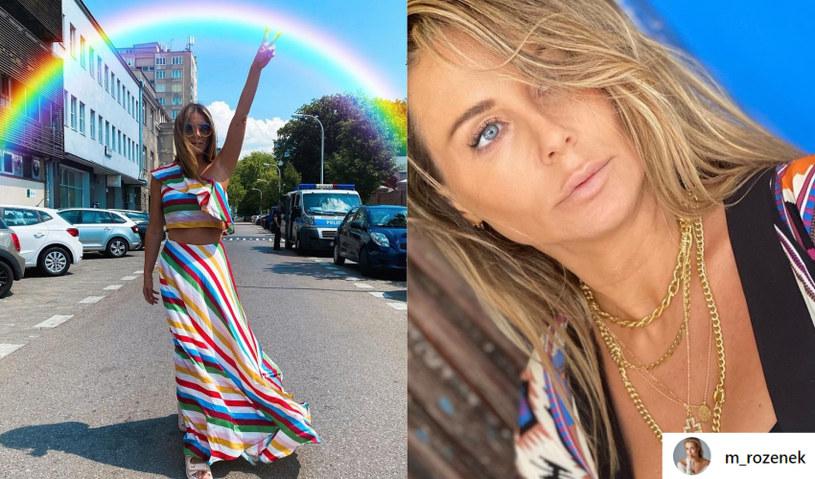 Małgorzata Rozenek-Majdan jest wierna swoim przekonaniom /instagram.com/m_rozenek /Instagram