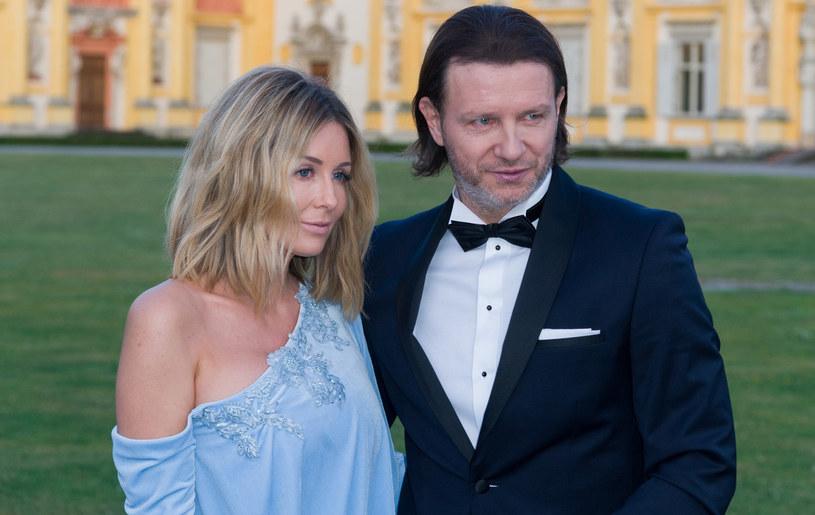 Małgorzata Rozenek-Majdan, Radosław Majdan /Artur Zawadzki/REPORTER /Reporter