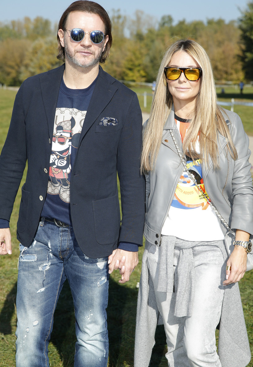 Małgorzata Rozenek-Majdan z mężem Radosławem Majdanem /Podlewski /AKPA