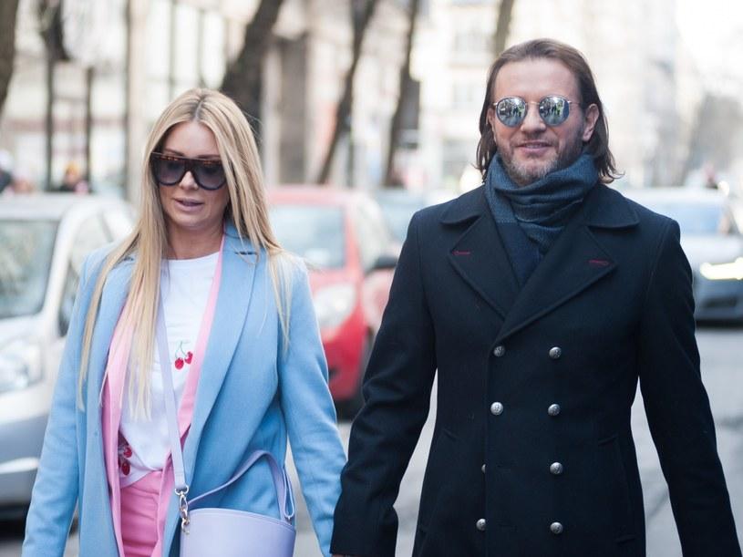 Małgorzata Rozenek w Paryżu /Artur Zawadzki/REPORTER /East News