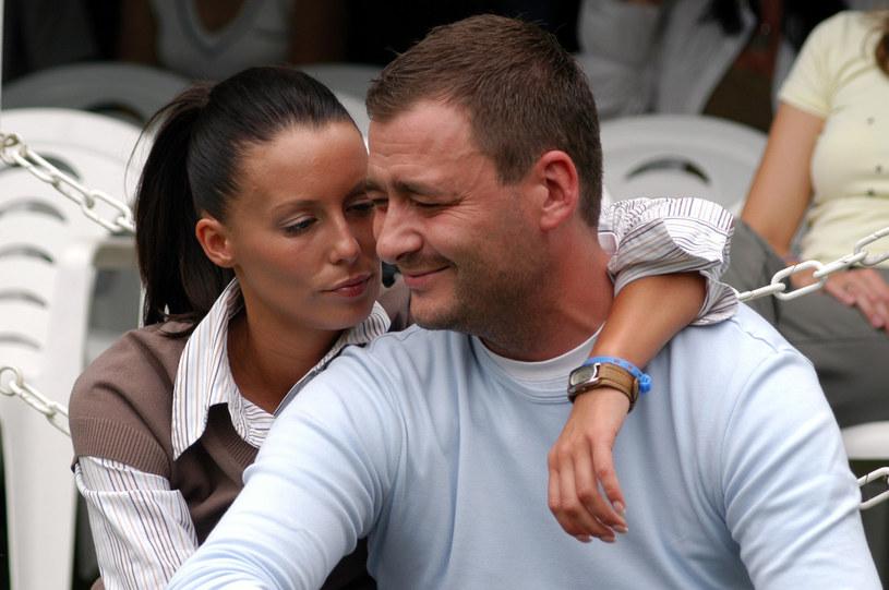 Małgorzata Rozenek z byłym mężem /Mikulski /AKPA