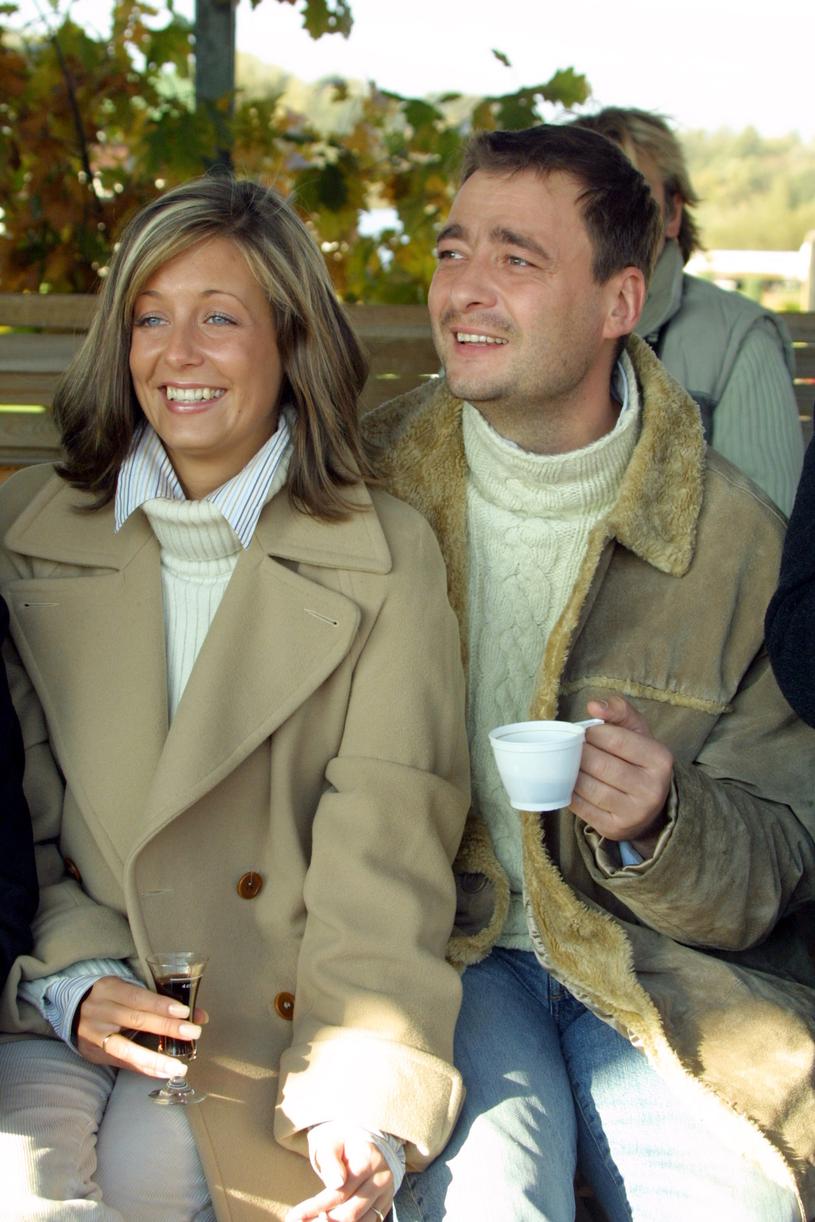 Małgorzata Rozenek z Jackiem /Agencja FORUM