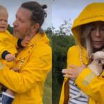 Małgorzata Rozenek zwiedza Szwecję z całą rodziną. Najmniej zadowolony jest Henryk