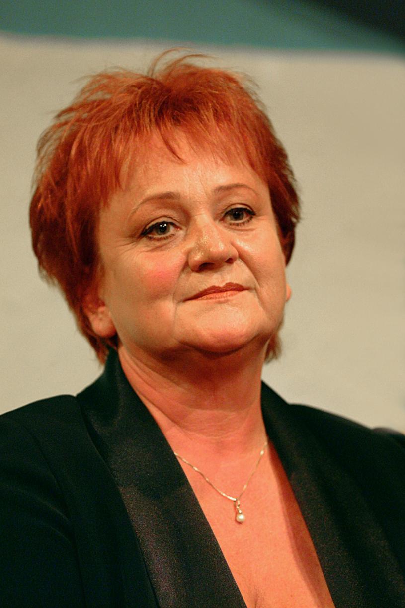 Małgorzata Rożniatowska, 2001 rok /Prończyk /AKPA
