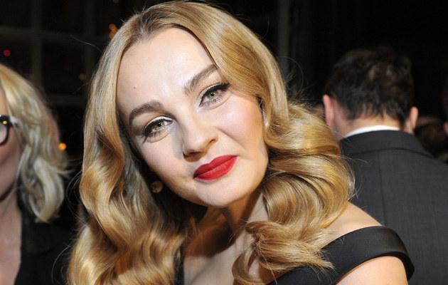 Małgorzata Socha na imprezy przychodzi z pełnym makijażu, ale na co dzień prezentuje się w bardziej naturalnej wersji /Kurnikowski /AKPA