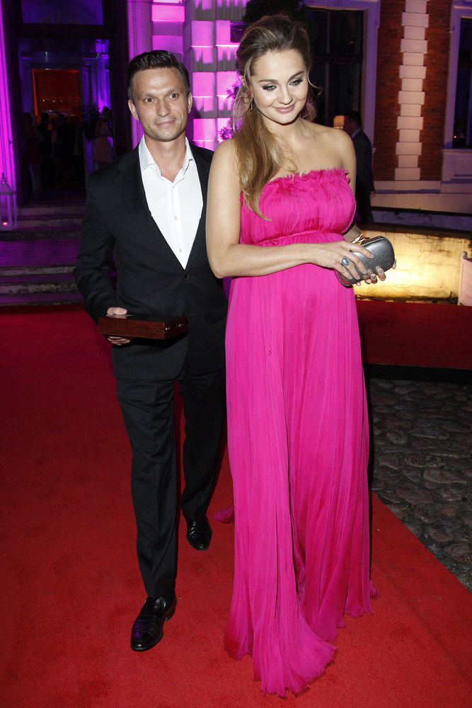 Małgorzata Socha z mężem Krzysztofem /Engelbrecht /AKPA