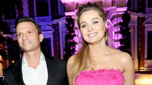 Małgorzata Socha z mężem /Agencja W. Impact