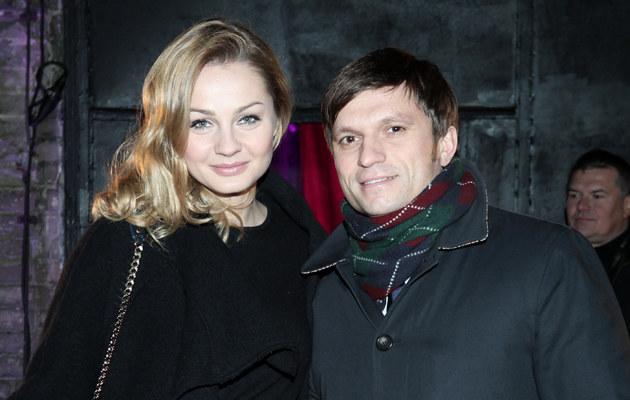 Małgorzata Socha z mężem /Paweł Wrzecion /MWMedia