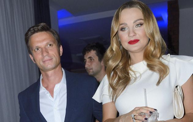 Małgorzata Socha z mężem /Jarosław Antoniak /MWMedia