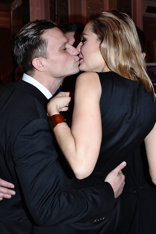Małgorzata Socha z mężem /VIPHOTO /East News