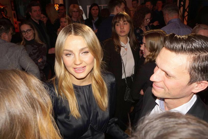 Małgorzata Socha z mężem /East News