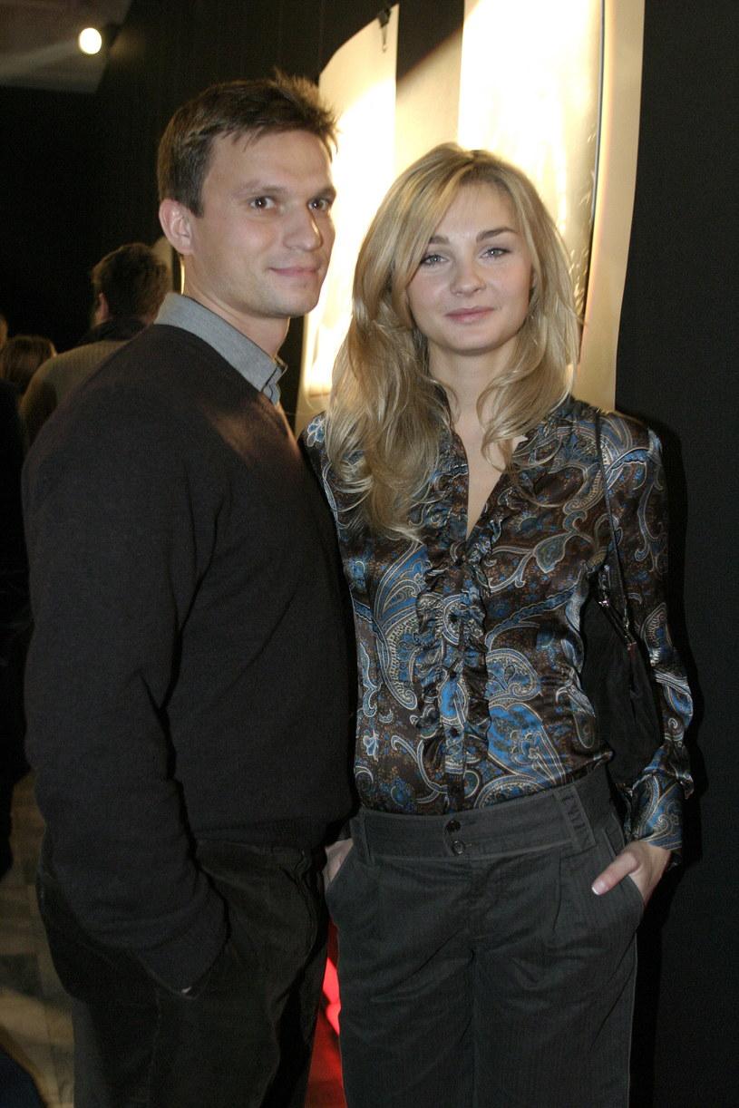 Małgorzata Socha z mężem /Krzysztof Jarosz /Agencja FORUM