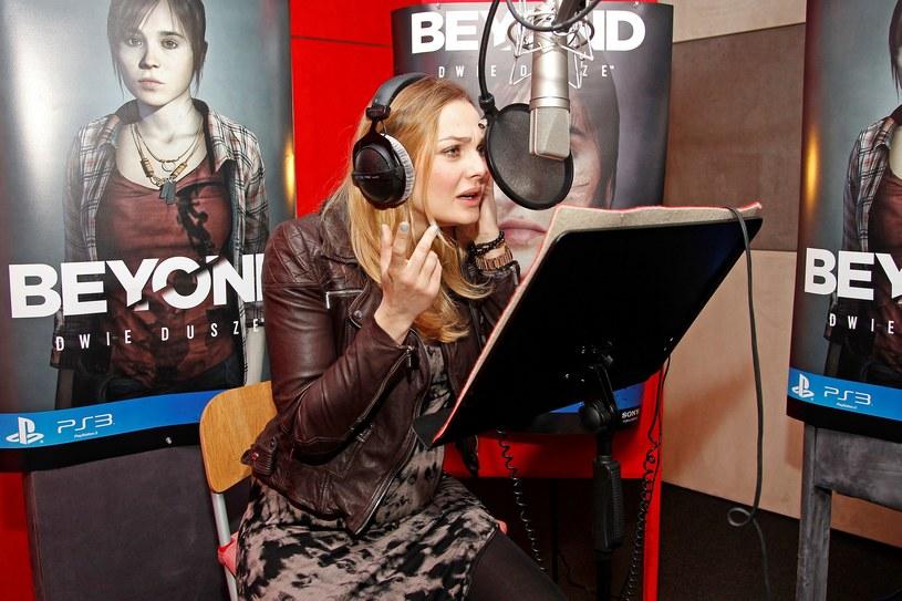 Małgorzata Socha - zdjęcie z sesji nagraniowej do Beyond: Dwie Dusze /INTERIA.PL