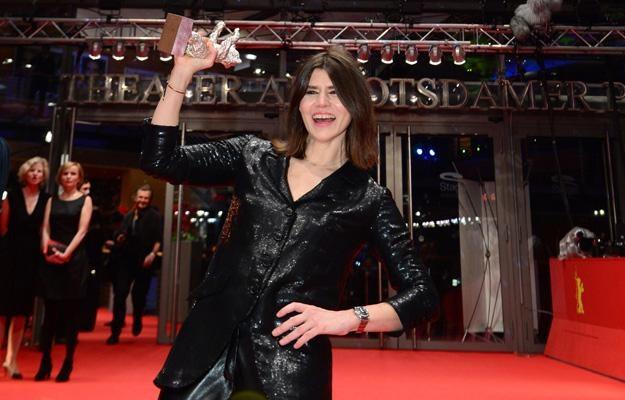 Małgorzata Szumowska ze Srebrnym Niedźwiedziem na Berlinale /AFP