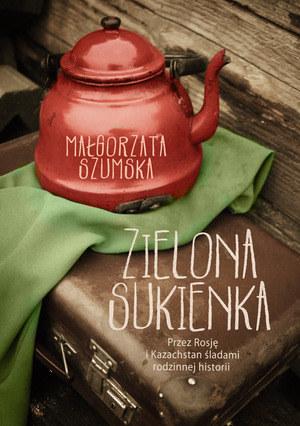 """Małgorzata Szumska """"Zielona sukienka"""" /Styl.pl/materiały prasowe"""