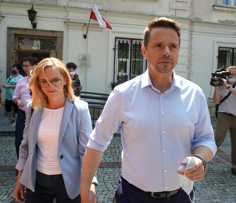 Małgorzata Trzaskowska i Rafał Trzaskowski /Janek Skarżyński /East News