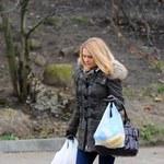 Małgorzata Tusk na przedświątecznych zakupach