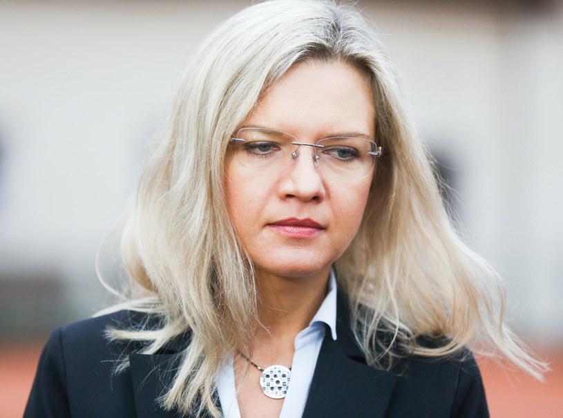 Małgorzata Wassermann, córka Zbigniewa Wassermanna, który zginął pod Smoleńskiem /Beata Zawrzel /Reporter