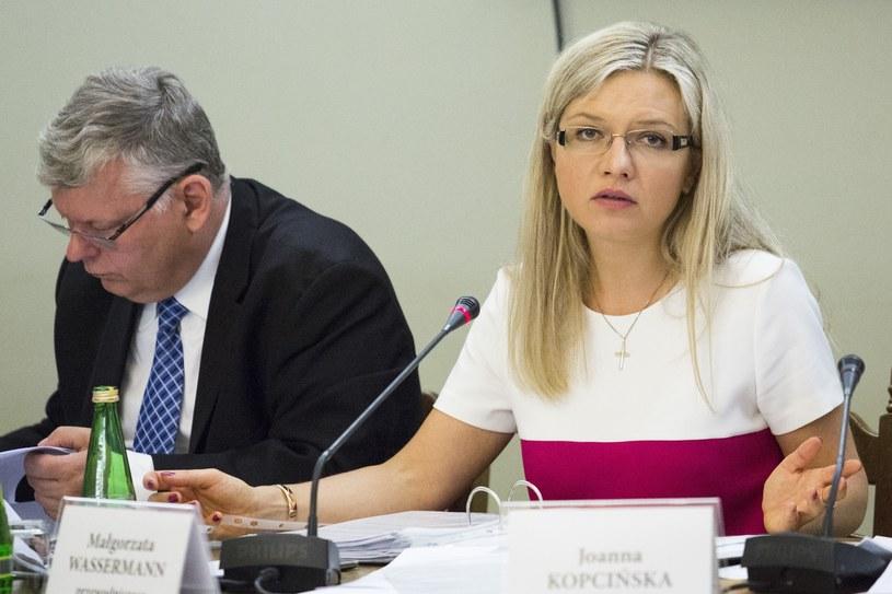 Małgorzata Wassermann i Marek Suski /East News