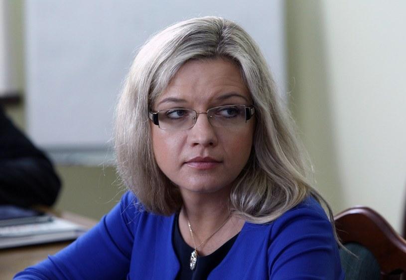 Małgorzata Wassermann, przewodnicząca komisji /Stanisław Kowalczuk /East News