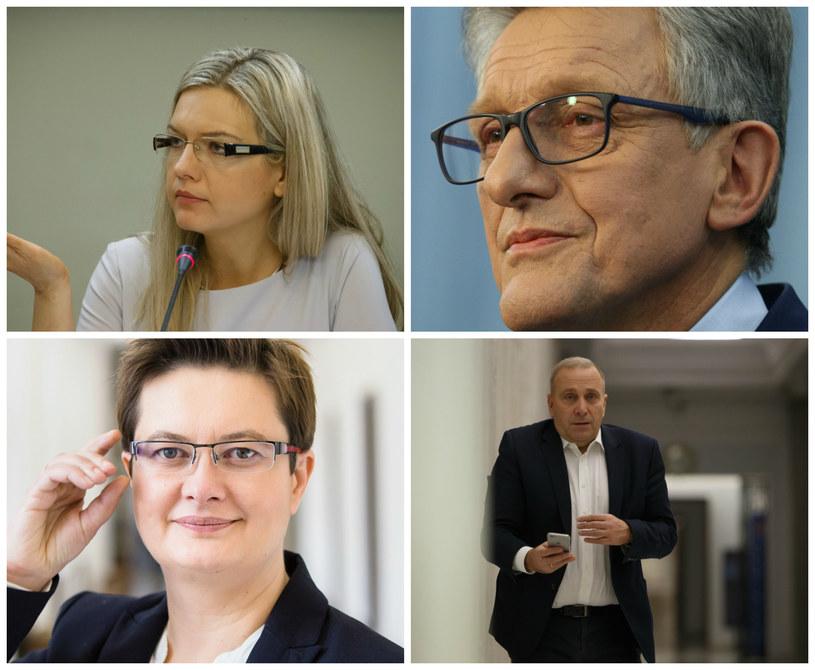 Małgorzata Wassermann, Stanisław Piotrowicz, Katarzyna Lubnauer, Grzegorz Schetyna /Krystian Maj, Michał Dyjuk, Łukasz Kamiński /Agencja FORUM