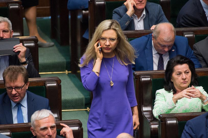 Małgorzata Wassermann w Sejmie /Jacek Domiński /Reporter