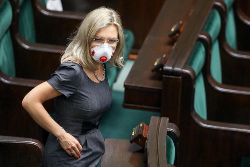 Małgorzata Wassermann w Sejmie /Tomasz Jastrzebowski/REPORTER /Reporter