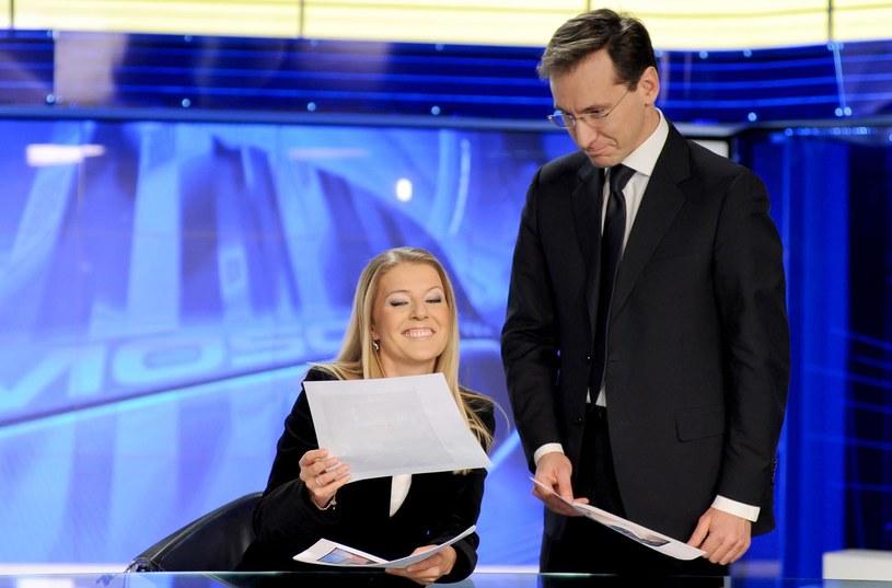 Małgorzata Wyszyńska i Piotr Kraśko /AIM