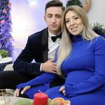 """Małgorzata z """"Rolnik szuka żony 4"""" i jej mąż Paweł w odcinku świątecznym. Brzuch już spory!"""