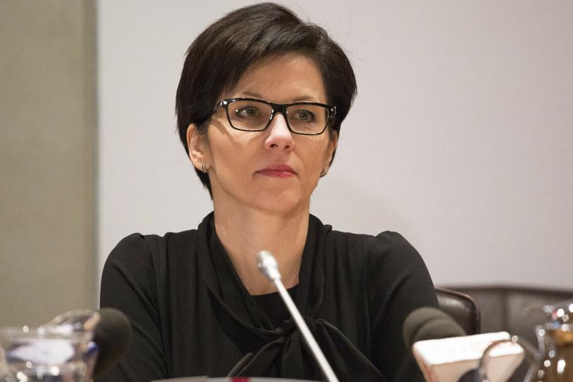 Małgorzata Zaleska, była szefowa BFG /fot. Maciej Luczniewski /Reporter