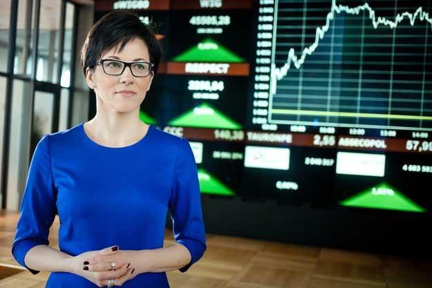 Małgorzata Zaleska - powołana przed rokiem prezes GPW /Informacja prasowa