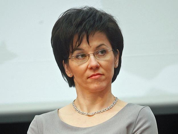 Małgorzata Zaleska, prezes GPW. Fot. Adam Guz /Reporter