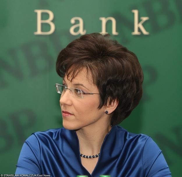Małgorzata Zaleska, prezes GPW. Fot. STANISŁAW KOWALCZUK /Agencja SE/East News