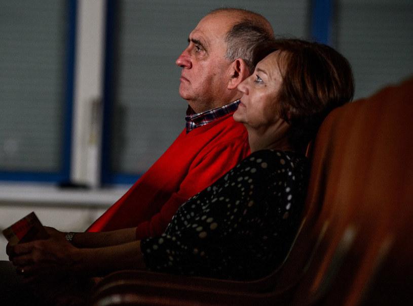 """Małgorzata Zimmer z poznanym w """"Sanatorium miłości"""" Markiem, fot. Piotr Matey/TVP /East News"""