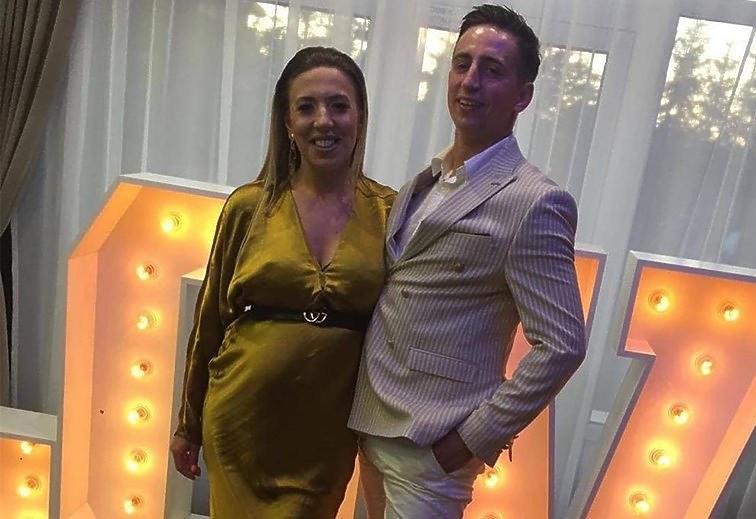 Małgosia i Paweł Borysewiczowie od 2 lat  są szczęśliwym małżeństwem /Instagram.com/ Małgorzata Borysewicz   /Instagram