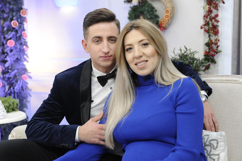 """Małgosia i Paweł w świątecznym odcinku programu """"Rolnik szuka żony"""" /AKPA"""