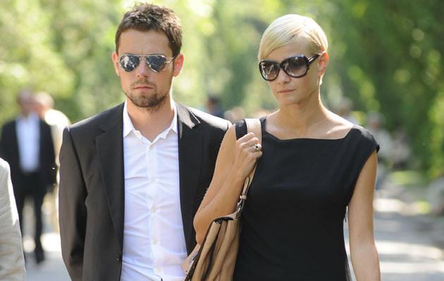 Małgosia Kożuchowska i Bartek Wróblewski, fot. Andras Szilagyi  /MWMedia
