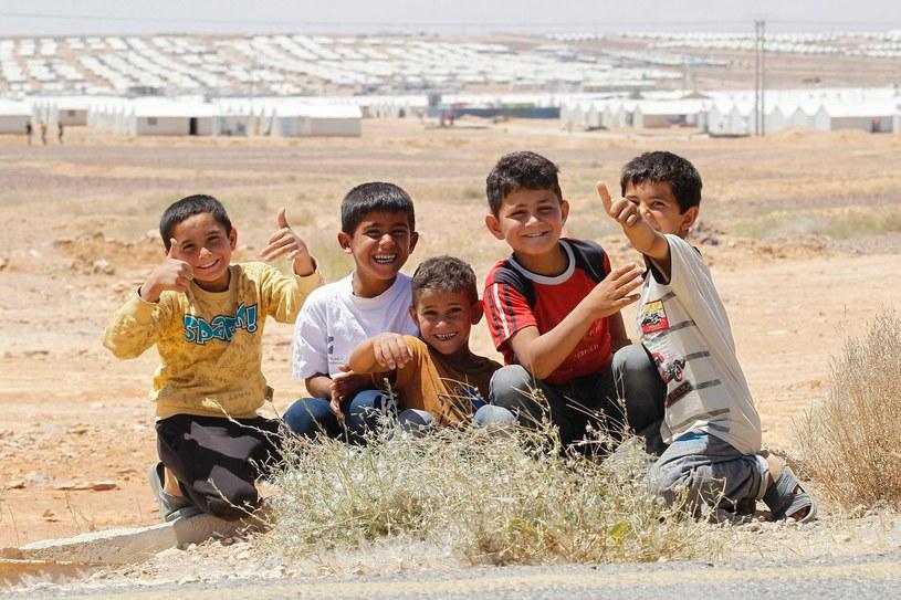 Mali syryjscy uchodźcy w jednym z obozów / zdj. ilustracyjne /AFP