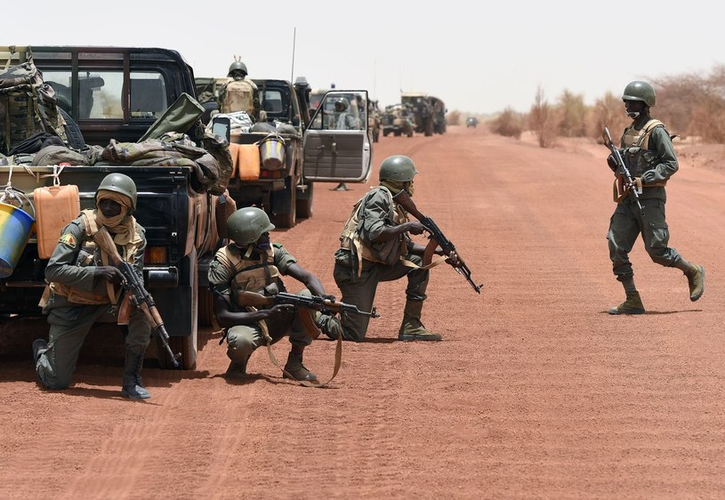 Malijscy żołnierze /PHILIPPE DESMAZES /AFP
